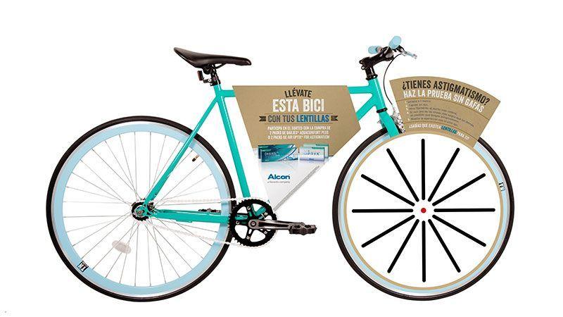 Bicicleta que se sortea