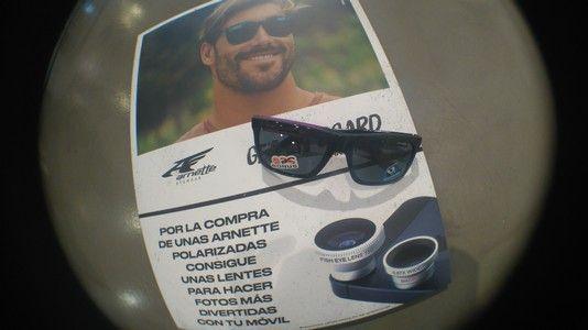 Lentes para hacer fotos ojo de pez de regalo al comprar tus gafas de sol Arnette polarizadas