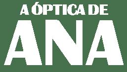 Logo en negativo de A Óptica de Ana